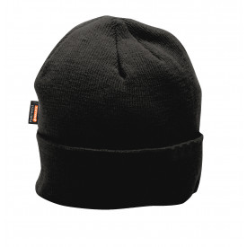 Insulated Knit Cap Insulatex™ Lined-Black