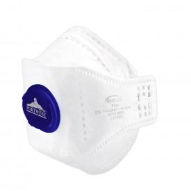 EAGLE FFP2 Valved Dolomite Fold Respirator (per 10 pcs)